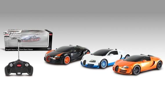 Raadioauto Bugatti