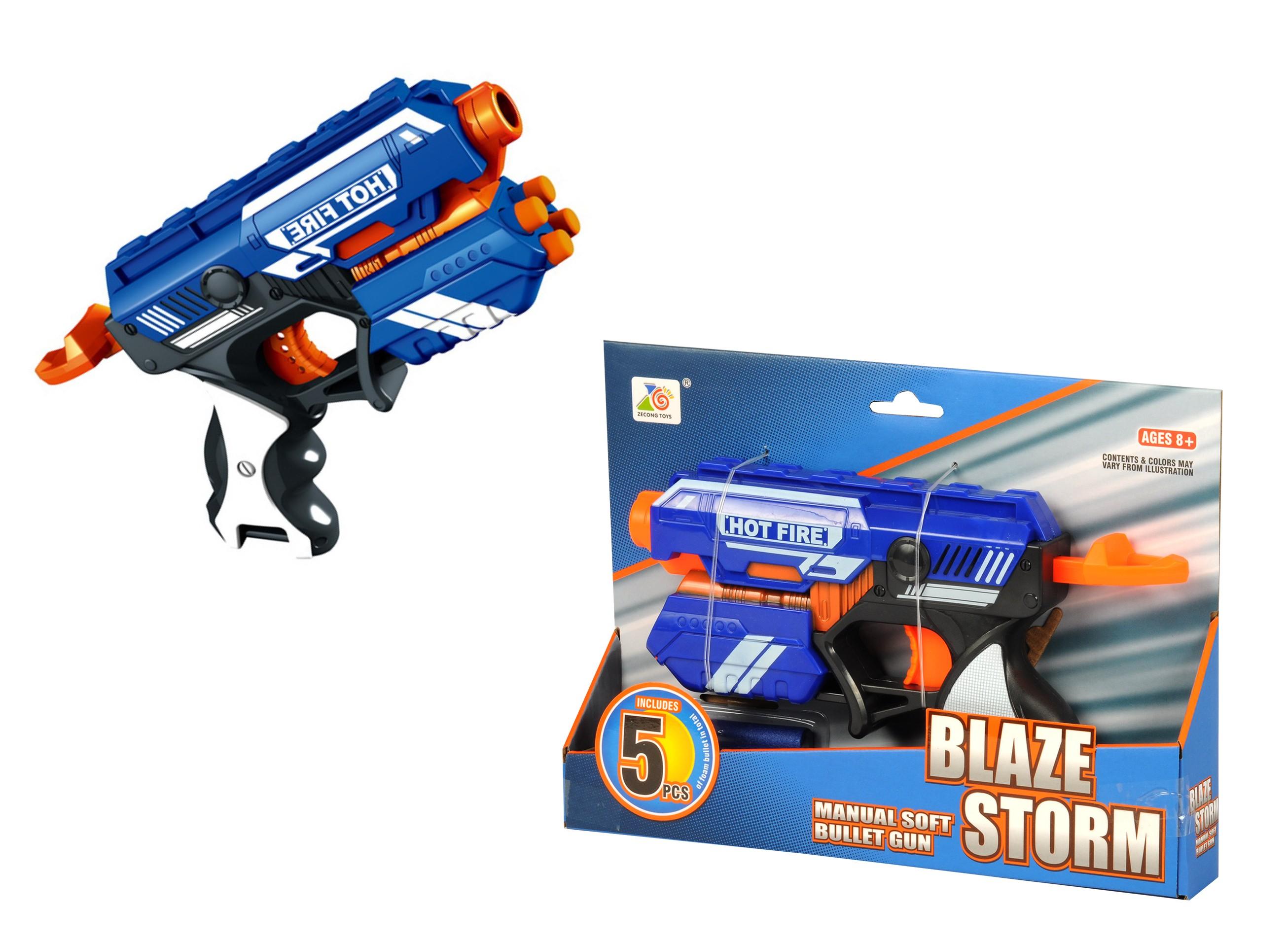 Pehmete nooltega relv