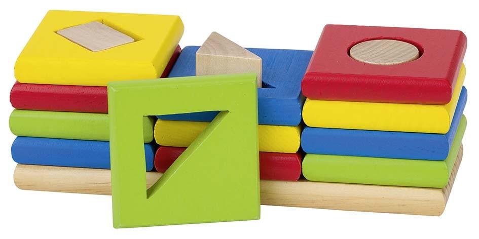 Kujundi ja värvi sorteerimismäng