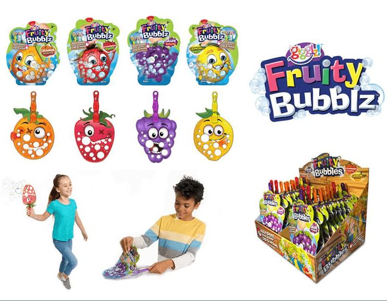 Fruity Bubblez- lõhnastatud mullitaja 4 erinevat 1/24
