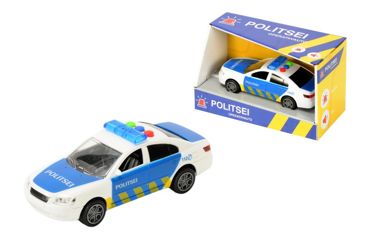Politseiauto Eesti häälte ja tuledega